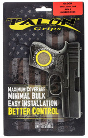 Talon Glock 29/29SF/30/30SF/30S/36 Gen3 Rubber Adhesive Textured Moss