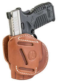 1791 Gunleather 3 Way Springfield XD, XDS/Walther G2C, PPS, Steerhide, Brown