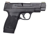 "Smith & Wesson M&P Shield M2.0 Performance Center 45 ACP, 4"", 6rd/7rd, Black"