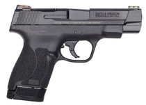 "Smith & Wesson M&P Shield M2.0 Performance Center 9mm, 4"", 7rd/8rd, Black"
