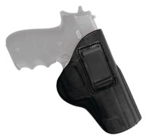 Tagua Gunleather Open Top Inside The Pant Holster 1911 Three Inch Compact Right Hand Black