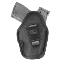 Crossfire The Impact, Ambidextrous IWB Holster, Fits Micro 1-1.5 Semi-Auto Pistols, Black