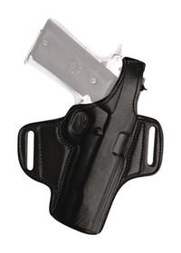 Tagua Thumb Break Leather Belt, Right Hand, Fits Bersa .380, Black