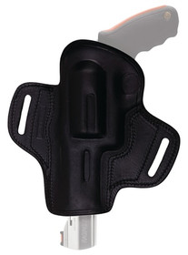 "Tagua Open Top Belt Holster, Right Hand, Ruger Mark III, 5.5"", Black"