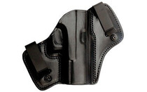 Tagua Dual Clip Holster, Fits Glock 42, Right Hand, Black