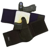 Galco Ankle Lite, Fits Ruger LCP/Kel-Tec P-3AT/P32/Kahr P380/DB380, Right Hand, Black