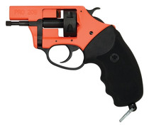 Charter Arms Pro Starter Pistol 209, 209 Primer, 6rd, Black/Orange