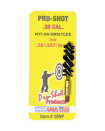 Pro-Shot .38/357 Cal.-.9mm Nylon Pistol Brush