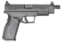 "Springfield Armory XD(M) 10mm 5.3"" Barrel Black Grip/Frame Black Melonite Slide"