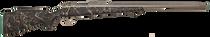 Fierce Fury 6.5 Creedmoor Titanium Barrel Finish, SS E-Brake, Carbon Fiber Finish Stock