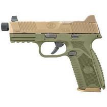 "FN 509 Tactical 9mm, 4.5"" Threaded Barrel, OD Green Frame, Flat Dark Earth Slide, 10rd"