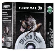 "Federal Upland Steel 12 Ga, 2.75"", 1 1/8oz, Steel, 25rd/Box"