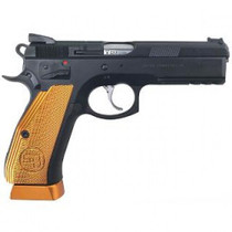 "CZ Custom SP-01 Shadow Orange, 9mm, 4.6"" Barrel, 17rd, Orange Grips/Black"