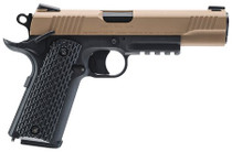 "Umarex Colt M45 CQBP, .177 BB, 4.5"" Barrel, 19rd, Black/Tan"