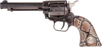 "Heritage Rough Rider Revolver SAA 22  LR 4.7.5"" Barrel, Snake Style Grips- TALO Exclusive"
