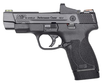 "Smith & Wesson Performance Center 45 Shield M2.0, 45 ACP, 4"" 6rd/7rd, Black"