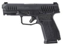 "Arex Rex Delta 9mm, 4"" Barrel, Interchangeable Backstrap, Black, Nitride Stainless Slide, 15rd/17rd"