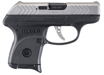 "Ruger LCP 380 ACP Double, 2.75"" Barrel, Black Grip, Stainless Slide"