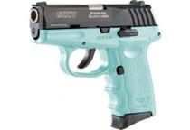 SCCY CPX3-CB Pistol DAO .380 10rd Blk/SCCY Blue w/o Safety