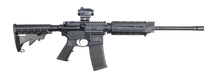 "Smith & Wesson M&P15 Sport II OR Magpul MOE with CTS-103 5.56 NATO 16"" Barrel, 6-Pos Synthetic Black Stock Black Matte/Black Armornite Barrel, 30rd"