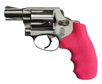 Hogue S&W Centennial/Bodyguard Rubber Tamer Grip Pink