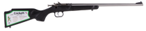 Crickett Single Shot Synthetic 22 WMR, Synthetic Black Stock, Stainless Steel, 1rd