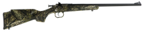 Crickett Single Shot Synthetic 22 WMR, Synthetic Mossy Oak Break-up, Blued, 1rd