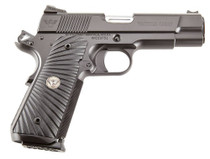 "Wilson Combat 1911 Commander Tactical Carry 9mm 5"" Barrel,  G10 Starburst Grip, OD Green Frame. Black Carbon Slide, 8rd"