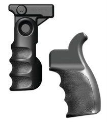 Tacstar Ar-15 Tactical Front And Rear Grips Set Black