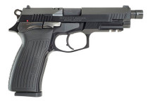 "Bersa TPR 9mm, 5"" Barrel, Black, Aluminum Alloy Frame, Black Steel Slide, 17rd"