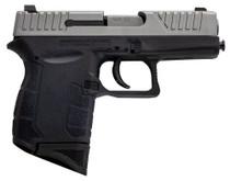 "Diamondback DB9 Striker Fired, Sub-Compact, 9mm, 3"" Stainless Steel Barrel, Nickel Boron Coated Barrel and Slide, Black Polymer Frame, 6Rd, 1 Magazine"