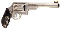 "Taurus Judge Engraved 410 Ga/45 Colt, 6.5"" Barrel, Dymondwood Grip, Stainless, 5rd"
