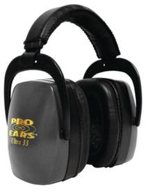 Pro Ears Ultra Ear Muff NRR33 Black