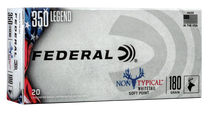 Federal Non Typical, 350 Legend, 180gr, Soft Point, 20rd Box