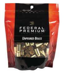 Federal Gold Medal Bagged Brass Unprimed 45 ACP, 100/Bag