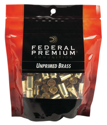 Federal Gold Medal Bagged Brass Unprimed 40 SW, 100/Bag