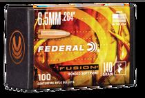 Federal Bullets .264 140gr, fus, 100rd