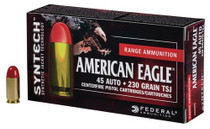 Federal American Eagle Syntech 45 ACP 230gr, Total Synthetic Jacket, 200rd/Box