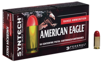 Federal American Eagle Syntech 9mm 150gr, Total Synthetic Jacket, 50rd Box