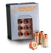 Magtech First Defense .40 SW 130gr, Solid Copper Hollow Point 20rd/Box