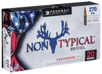 Federal Non-Typical 270 Win 130gr, Soft Point, 20rd Box