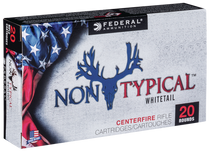 Federal Non-Typical 308 Win/7.62mm 150gr, Soft Point, 20rd/Box