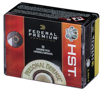 Federal Personal Defense 9mm 147gr, Jacketed Hollow Point, 20rd/Box