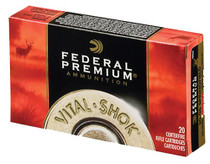 Federal Premium 270 Win Short Mag 130gr, Nosler AccuBond, 20rd Box