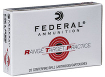 Federal Range and Target 223 Rem/5.56mm 55gr, FMJ, 20rd/Box