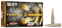 Federal Premium Vital-Shok 7mm-08 140gr, TSX, 20rd Box