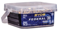 Federal Small Game Target BYOB 22 LR 36gr, Copper-Plated Hollow Point, 825rd/Box