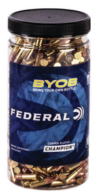 Federal Small Game Target BYOB 22 WMR 36gr, Jacketed Hollow Point, 250rd Box