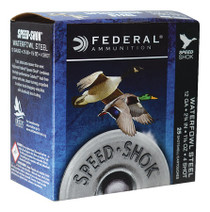 "Federal Speed-Shok 12 Ga, 2.75"", 1-1/8oz, 4 Shot, 25rd/Box"