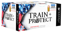 Federal Train and Protect 9mm 115gr, Verstile Hollow Point (VHP), 50rd/Box